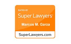 2019 Super Lawyers Badge - Marcos Garza DUI/DWI